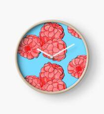 Rasberries Clock