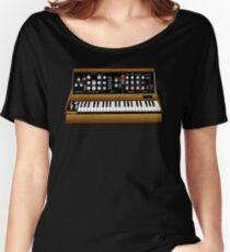 Mini Moog Synth T-Shirt Women's Relaxed Fit T-Shirt