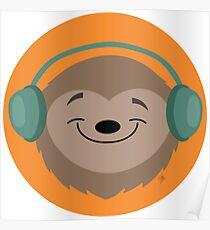 Sloth Jams Poster