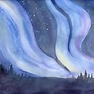 God's Wonders - Northern Lights by Diane Hall