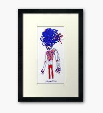 'Carmen Verandah' Framed Print