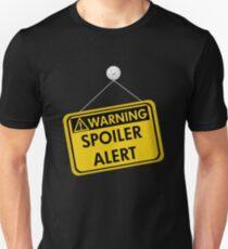 Warning Spoiler Alert Unisex T-Shirt