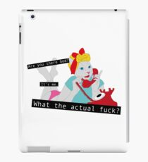 50s Telephone Cat iPad Case/Skin