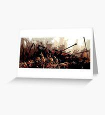 300 wall art Greeting Card