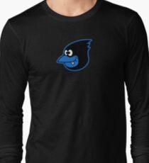 Blue Bird Brain Long Sleeve T-Shirt