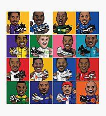 NBA Legends Shoes Photographic Print