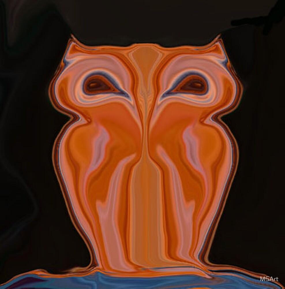 Owl by MSArt