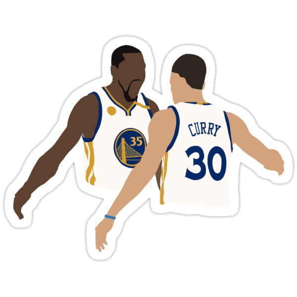 aedc4d998ea4 Kevin Durant And Stephen Curry Sticker ...