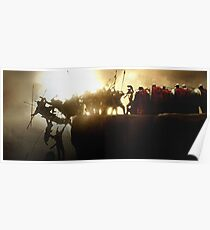 300 spartans wall art Poster