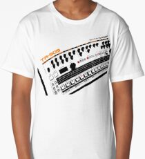Roland Tr-909 Drum Machine Long T-Shirt