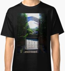 Gate to the Old Church, Grianan, Donegal, Ireland Classic T-Shirt