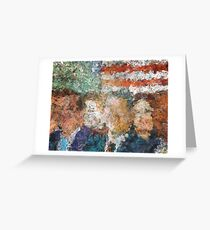 Patriots Gathering Greeting Card