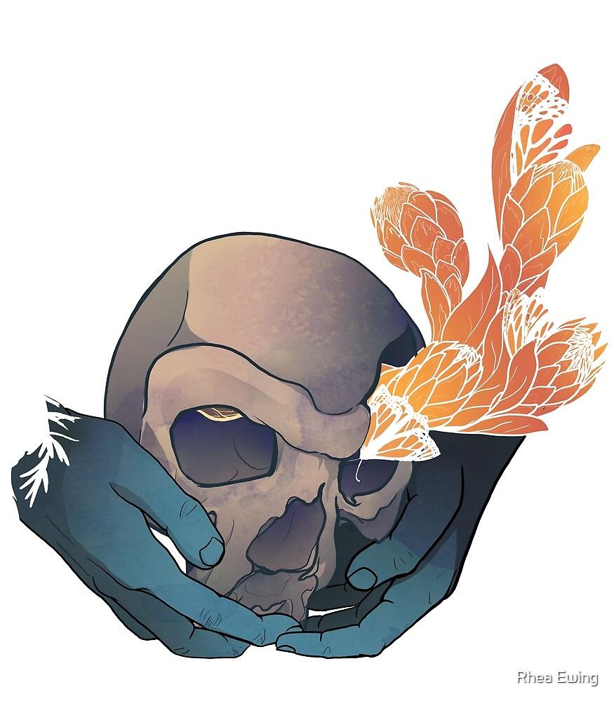 Steinheim (skull only) by Rhea Ewing