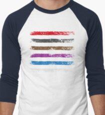 BJJ Belt Rank Shirt for Jiu Jitsu Men's Baseball ¾ T-Shirt