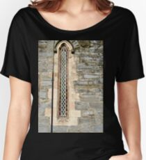 Narrow Window, Old Church, Griannan. Donegal, Ireland Women's Relaxed Fit T-Shirt