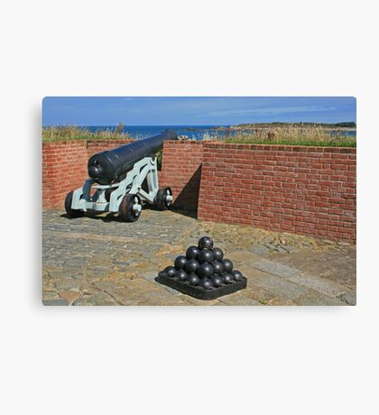 Cannon and Balls Canvas Print
