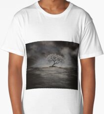 Tree in the Sea by Ed Capeau Long T-Shirt