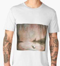 Edge of the World by Ed Capeau Men's Premium T-Shirt
