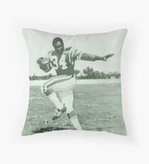 George Reed #34 Throw Pillow