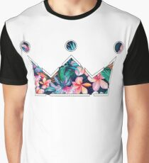 Floral Nobility Clothing Crown  Graphic T-Shirt