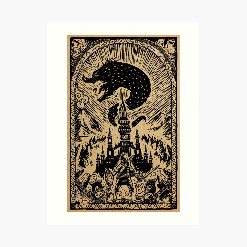 The Great Cataclysm Art Print