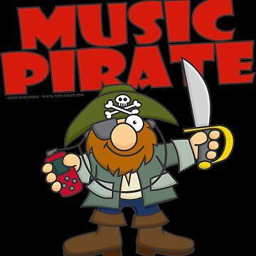 Music Pirate by Wislander