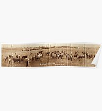 Creelman Fair 1923 Panoramic Poster