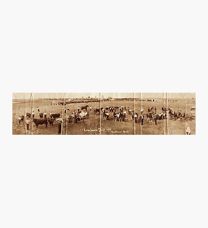 Creelman Fair 1923 Panoramic Photographic Print
