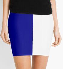 Blue Stripes Mini Skirt