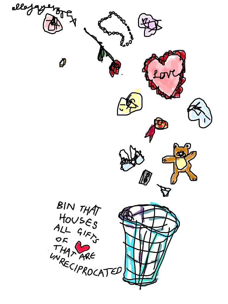 Unreciprocated Love Bin by ellejayerose