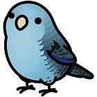 Custom Reverse Blue Linnie by birdhism