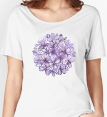 Lilac Women's Relaxed Fit T-Shirt