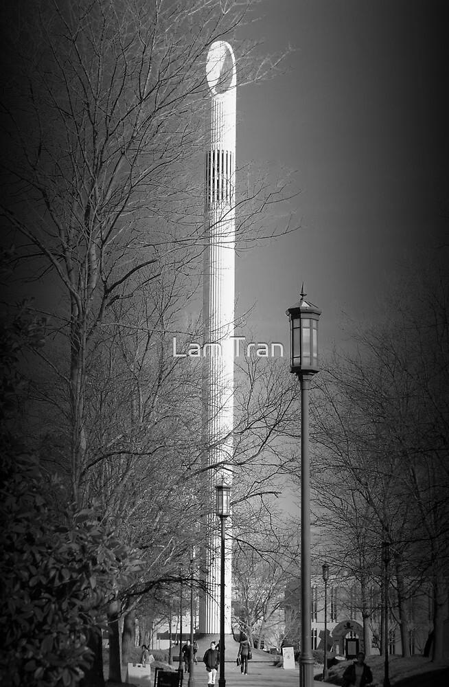 UNCC Bell Tower II by Lam Tran