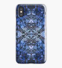 deep blue butterflywing iPhone Case/Skin