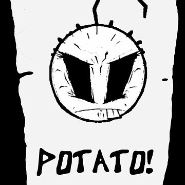 Happy noodle boy POTATO!  by DamianMorris