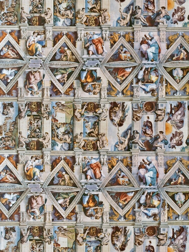 Michaelangelo - Sistine Chapel Ceiling by deanworld