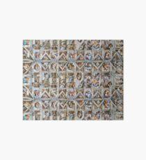 Michaelangelo - Sistine Chapel Ceiling Art Board