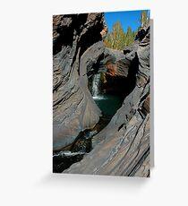 Hammersley Gorge, Karijini Greeting Card