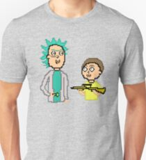 -RICK AND MORTY- Retro Pixel  Unisex T-Shirt