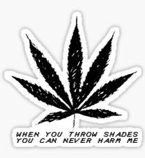 Weed- Shades Sticker