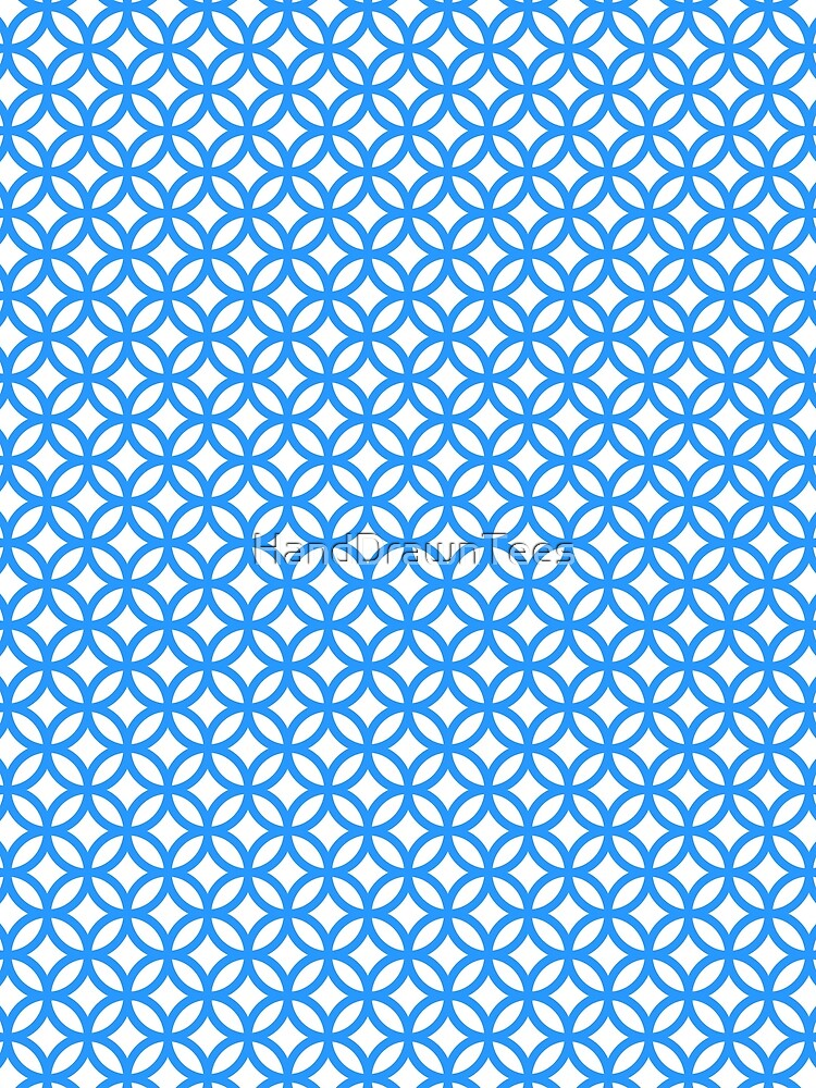 Overlapping Circle Pattern by HandDrawnTees
