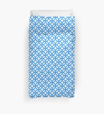 Overlapping Circle Pattern Duvet Cover