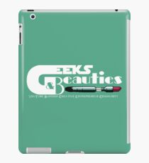 Geeks & Beauties iPad Case/Skin