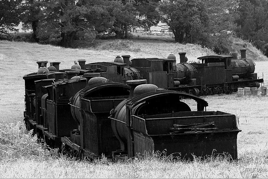 Train Graveyard by myraj