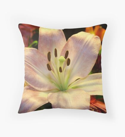 Blossomed Throw Pillow