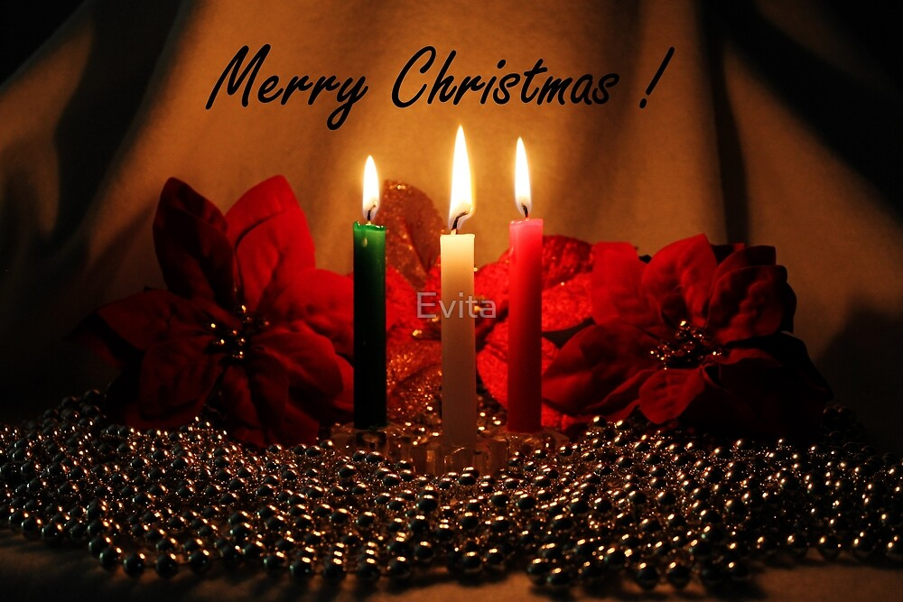Christmas Cards Series #4 by Evita