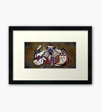 Journey through the Continuum Framed Print