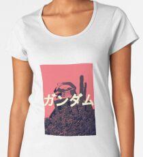 The Gundam Shirt | Mobile Suit RX-78-2 Pink Premium Scoop T-Shirt