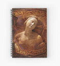 Maiden of the Shield Spiral Notebook