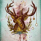 Oh deer, is that the time? by Sybille Sterk
